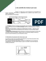 Electronique de contôle des moteurs pas à pas.docx