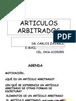 ARTICULOS ARRBITRADOS.ppt