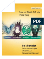 2014 Solder Joint Reliability