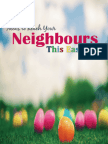 Ideas to Reach Your Neighbours This Easter