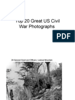 Top 20 Great US Civil War Photographs