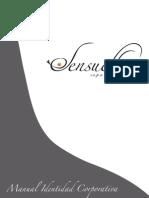 Manual Identidad Corporativa Sensuelle