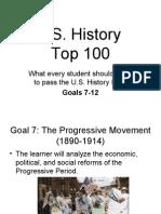 U.S. Top 100 Goals 7-12