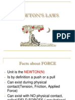 ap physics b - newton s first and second law