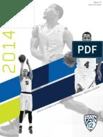 2014-15 Pac-12 Men's Hoops Media Guide