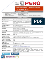 Pulso Perú, Datum, octubre 2014.pdf