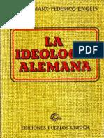 La ideología alemana. Capítulo 1- K. Marx-.pdf