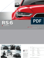 Audi RS 6 Avant Catalogue (DE)