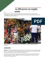 Gastan hasta 200 pesos en regalo para las mamás - Grupo Milenio.pdf