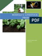 Module 5 - Livestock Production