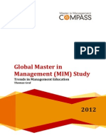 Global MIM Study 2012 Report