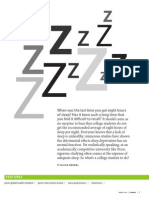 Sleep Deprivation by Olivia Bernal