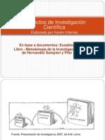 proyectodeinvestigacinrobertohernandezsampieri77ppt-130717021039-phpapp01.pps