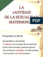 Santidad Sexual