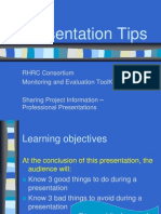 73a PresentationTips.pps