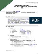 Panduan Lap Pendukung Audit Teknis - Daerah Irigasi ( MOLEK )