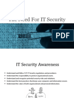 The Need for IT Security1