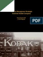 Analisis Manajemen Strategis Eastman Kodak Company