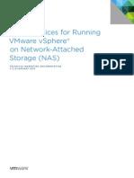 Best Practices for Running VMware VSphere on Network Attached Storage (NAS)