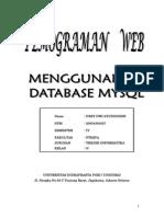 Web Menggunakan Database MYSQL