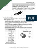Spirulina Infosheet