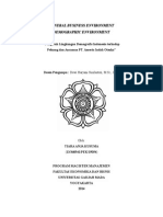 General Business Environment- Demographic