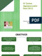 El Censo Agropecuario en el Peru 2012.ppt