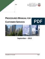 Procedures Manual for Customer Services - V2 (1)