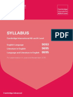 a level syllabus 2015
