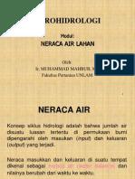 Neraca Air Lahan