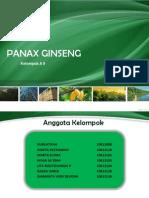 PRESENTASI PANAX GINSENG.ppt