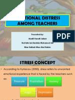 Emotional Distress Among Teachers