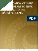 Shirk According to Maliki Scholars (English)