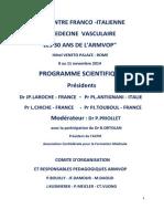 RENCONTRE FRANCO-ITALIENNE DE MEDECINE  VASCULAIRE  ARMVOP 2014.pdf