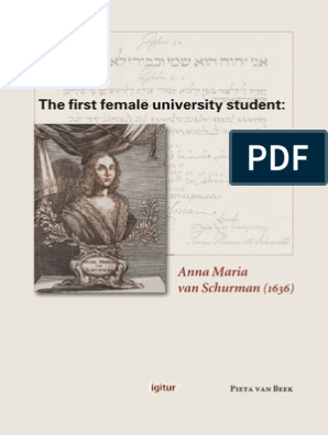 best loved retail prices details for The first female university student: Anna Maria van Schurman (1636 ...