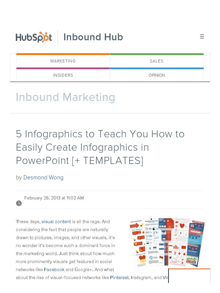 5 infographics to teach you how to easily create infographics in 5 infographics to teach you how to easily create infographics in powerpoint templatespdf infographics computing toneelgroepblik Image collections