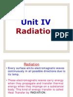 Unit IV Radiation