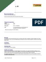 Jotun Thinner No. 25 - English (Uk) - Issued.06.12.200