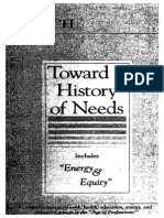 Toward a History of Needs - Ivan Illich