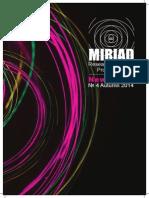 MIRIAD Newsletter #4 Autumn 14