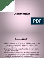osmanski jezik