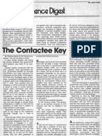 The Contactee Key by John A. Keel