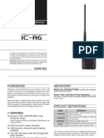 ICOM IC-R6 Manual (EN)