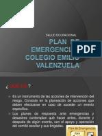 CAPACITACIÓN  - PLAN DE EMERGENCIAS FUNDACION  COLEGIO EMILIO VALENZUELA..pptx