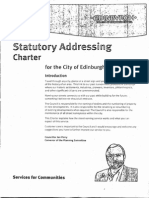 Statutory Addressing Charter