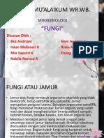 "[PPT] Materi Mikrobiologi ""Fungi"""