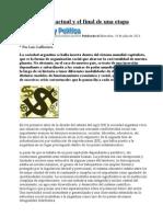 2013-07-24 Lafferriere La Argentina actual y el final de una etapa En AyP.doc