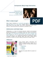 professional development general overview body image