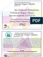 Booklet Politeknik Negeri jakarta 2014/2015
