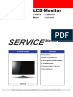 Samsung P2470HD Service Manual (EN)
